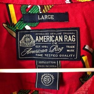 American Rag Shirts - American Rag Holiday Cactus Shirt